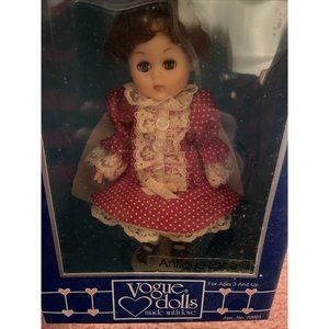 """NWT VOGUE DOLLS ginny Doll 8"""" Antique Lace Sealed"""